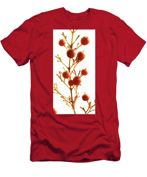 Men's T-Shirt (Athletic Fit) featuring the photograph Brazilian Pepper 0482 by Mark Shoolery