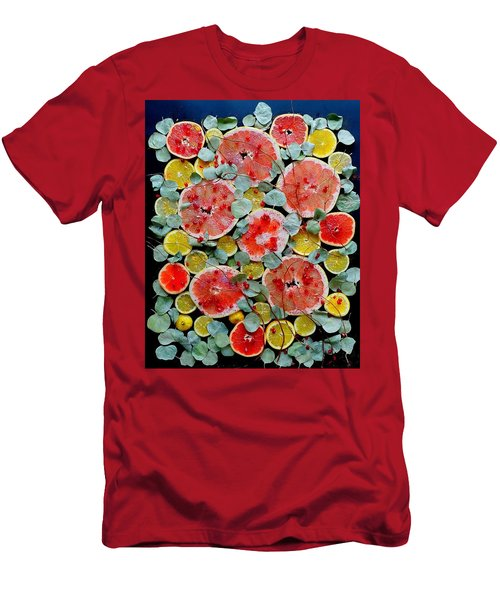 Brighter Days Citrus Men's T-Shirt (Athletic Fit)