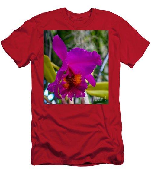 Brilliant Orchid Men's T-Shirt (Athletic Fit)