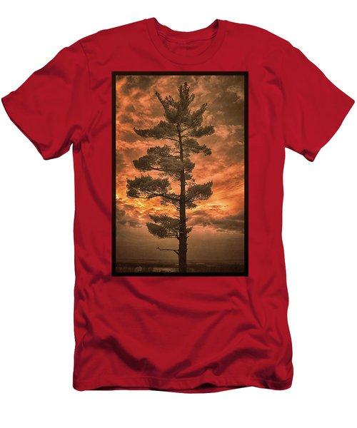 Burning Sky Men's T-Shirt (Athletic Fit)