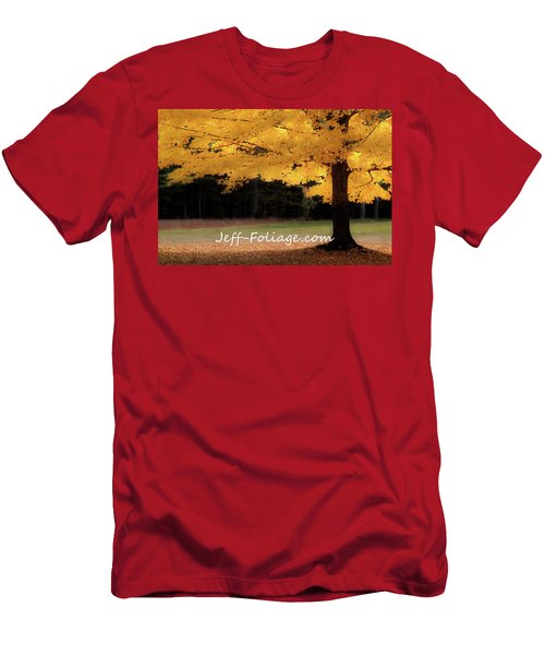 Canopy Of Gold Fall Colors Men's T-Shirt (Athletic Fit)