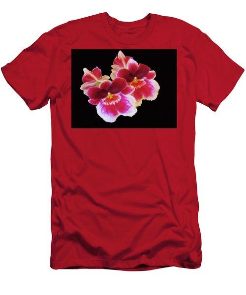 Canvas Violets Men's T-Shirt (Athletic Fit)