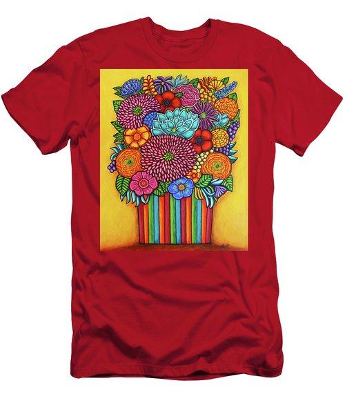 Celebration Bouquet Men's T-Shirt (Athletic Fit)