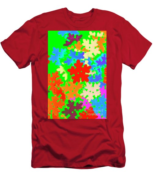 Christmas Crafting Men's T-Shirt (Athletic Fit)