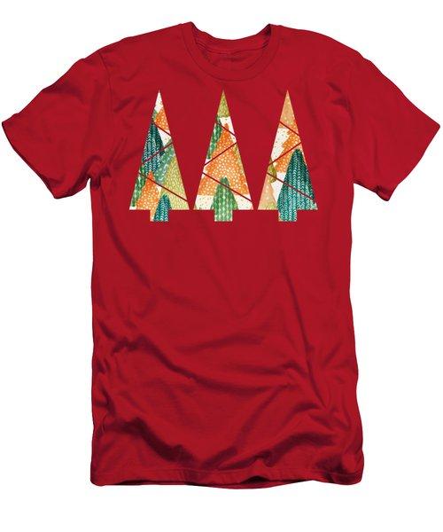 Christmas Trio Men's T-Shirt (Athletic Fit)
