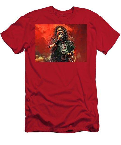 Chuck Billy, Testament Men's T-Shirt (Athletic Fit)