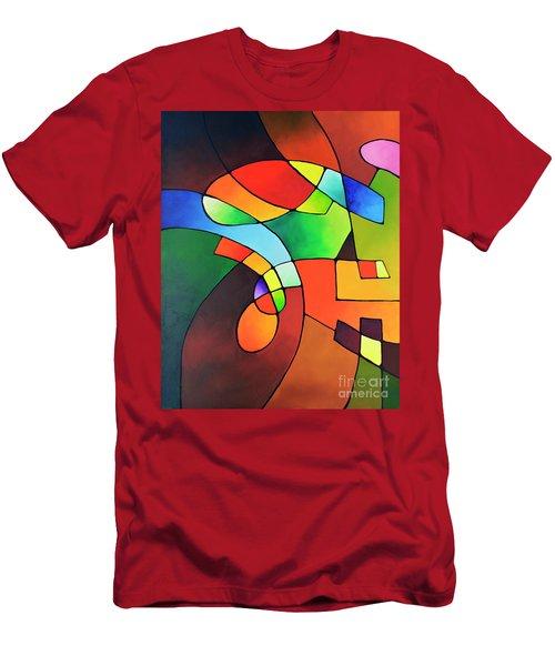 Clear Focus 2, Canvas One Men's T-Shirt (Athletic Fit)
