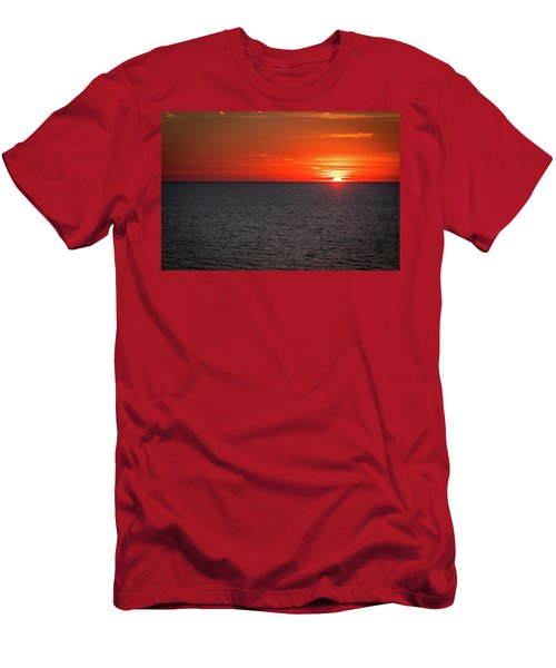 Clearwater Sunset Men's T-Shirt (Athletic Fit)