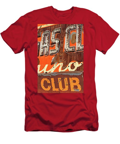 Men's T-Shirt (Athletic Fit) featuring the photograph Club by Skip Hunt