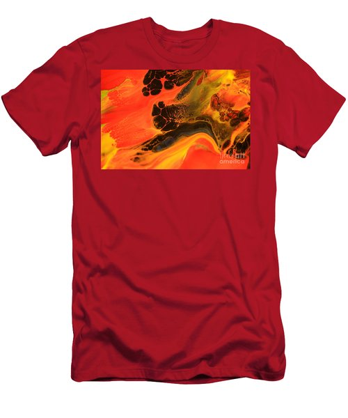 Colored Wild  Men's T-Shirt (Athletic Fit)