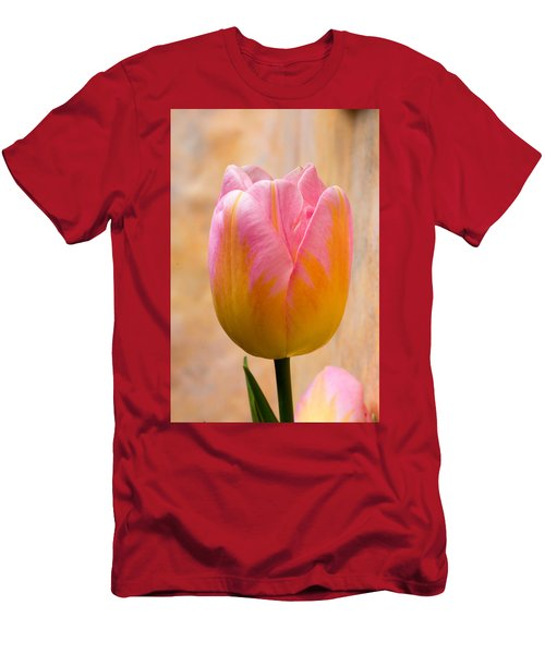 Colorful Tulip Men's T-Shirt (Athletic Fit)