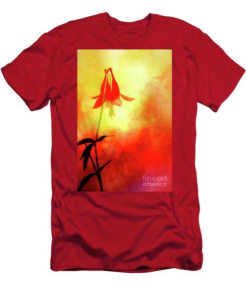 Columbine Sunset Men's T-Shirt (Athletic Fit)