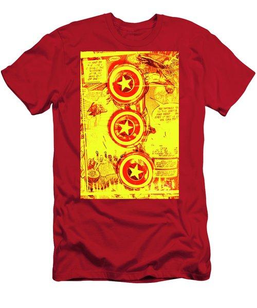 Comic Book Composite Men's T-Shirt (Athletic Fit)