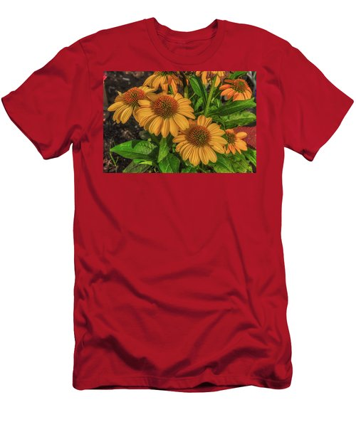 Men's T-Shirt (Athletic Fit) featuring the photograph Coneflowers  by Guy Whiteley