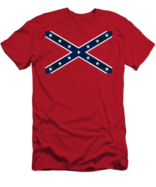 Confederate Stars And Bars T-shirt Men's T-Shirt (Athletic Fit)
