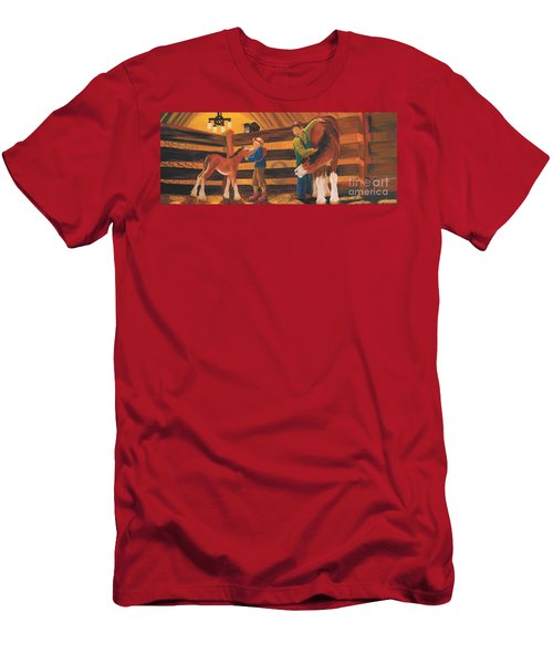 Cricket And Ginger Men's T-Shirt (Athletic Fit)