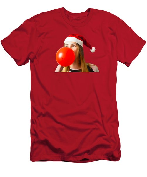 Cute Christmas Party Planner Men's T-Shirt (Athletic Fit)