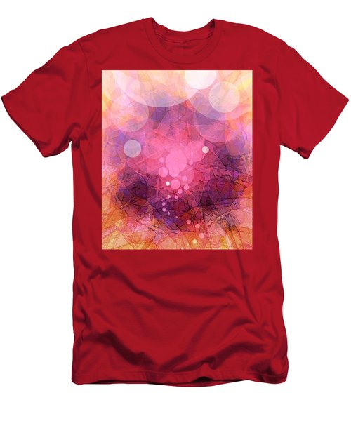 Men's T-Shirt (Athletic Fit) featuring the painting Da3 Da3467 by Arttantra
