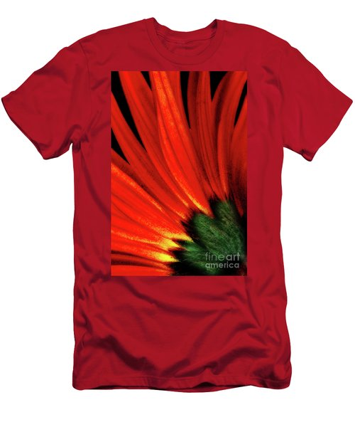 Daisy Aflame Men's T-Shirt (Athletic Fit)
