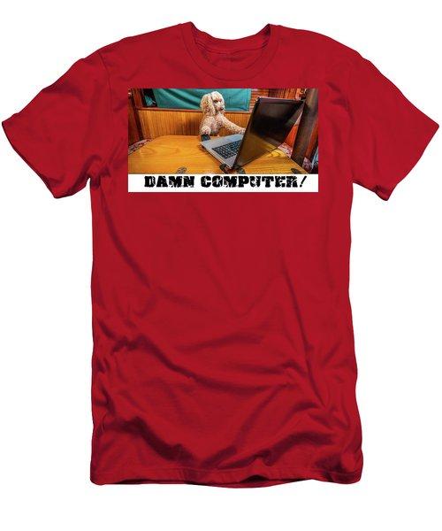 Damn Computer Men's T-Shirt (Athletic Fit)