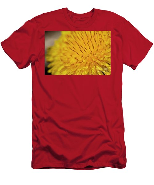 Dandelion Macro Men's T-Shirt (Athletic Fit)