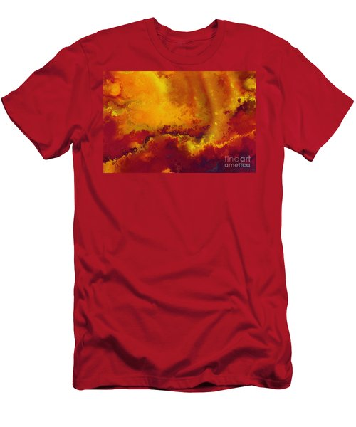 Daniel 6 27. He Delivers And Rescues Men's T-Shirt (Athletic Fit)