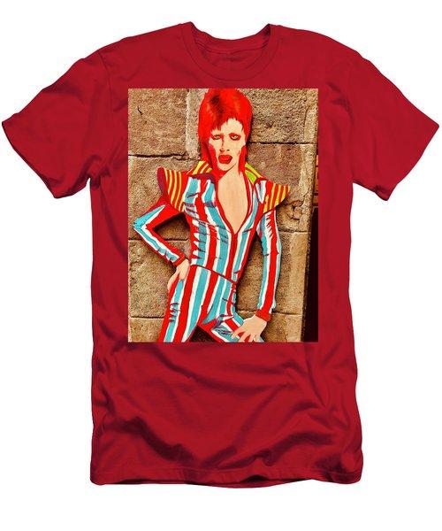 David Bowie Glory Days  Men's T-Shirt (Athletic Fit)