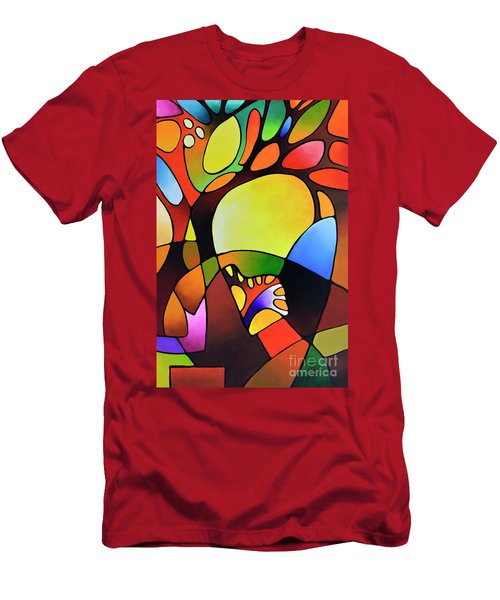 Daydream Canvas Three Men's T-Shirt (Athletic Fit)
