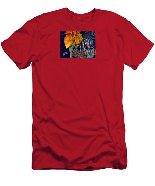 Deep Earth No. 3  Twenty-four Karat Men's T-Shirt (Athletic Fit)