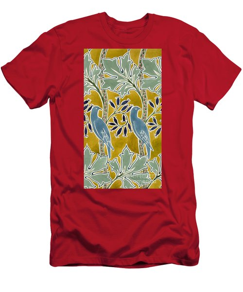 Design For 'new Silk Cloth, May 1901  Men's T-Shirt (Athletic Fit)