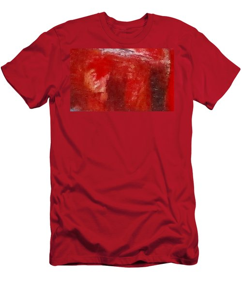 Digital Abstract N12. Men's T-Shirt (Athletic Fit)