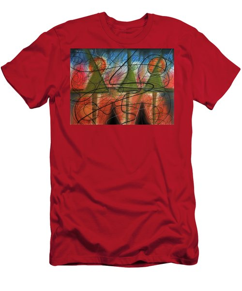 Disturbance At Lake Men's T-Shirt (Athletic Fit)