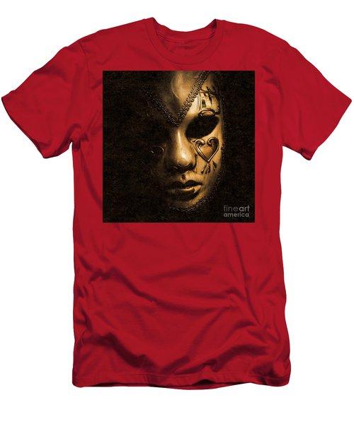 Dont Be Evil Said The Masked Villain Men's T-Shirt (Athletic Fit)