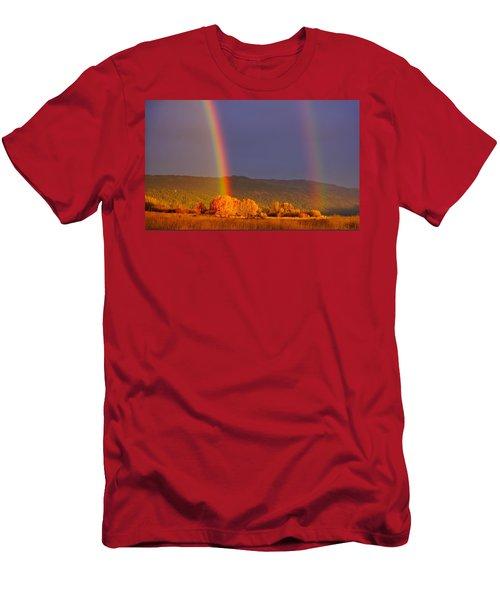 Double Gold Men's T-Shirt (Athletic Fit)