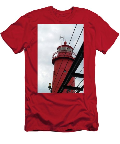 Dressed In Red Men's T-Shirt (Athletic Fit)