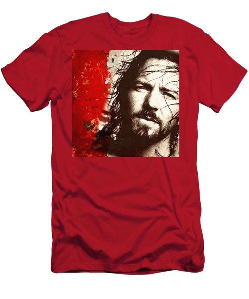 Eddie Vedder Men's T-Shirt (Athletic Fit)