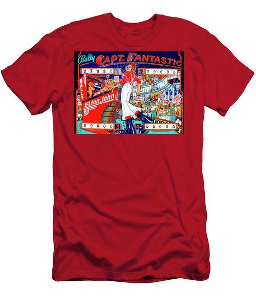 Elton John Pinball Wizard Men's T-Shirt (Athletic Fit)