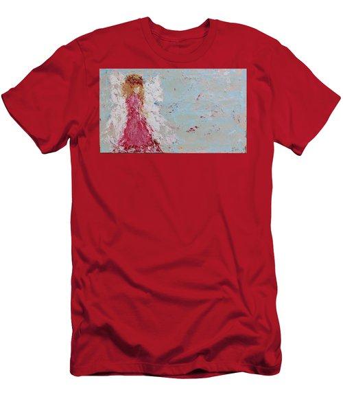 Emma's Angel Men's T-Shirt (Athletic Fit)