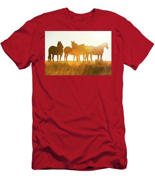 Equine Glow Men's T-Shirt (Athletic Fit)
