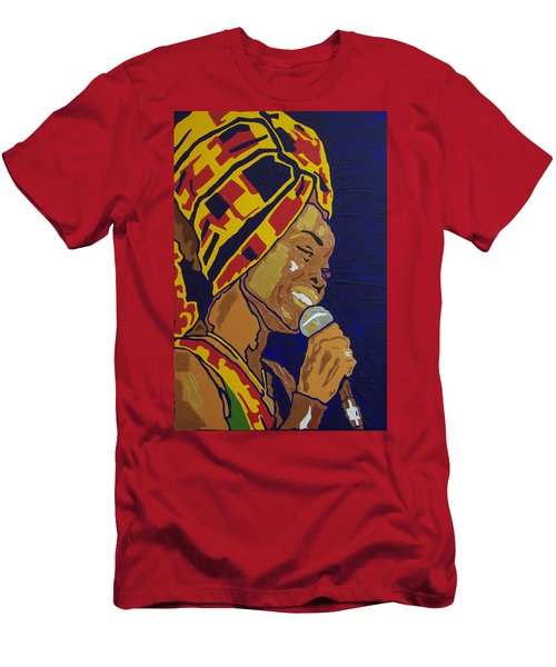 Erykah Badu Men's T-Shirt (Athletic Fit)