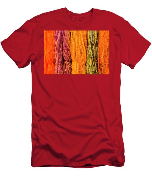 Fall Fibers 2 Men's T-Shirt (Athletic Fit)