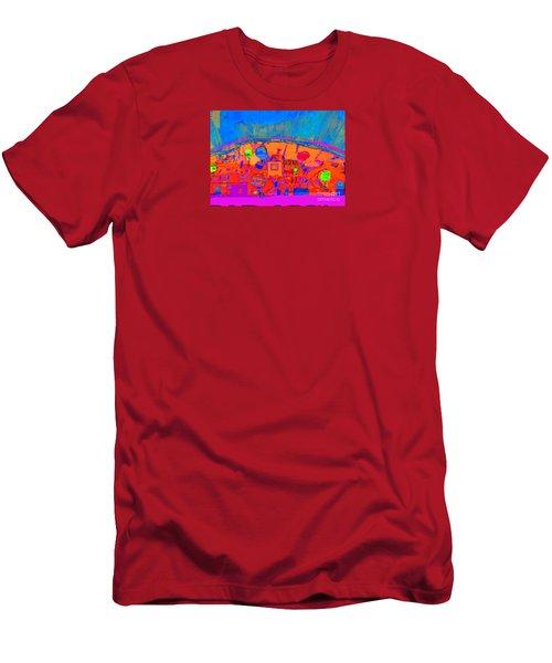 Fantastic Boundaries  No. 4 Men's T-Shirt (Athletic Fit)