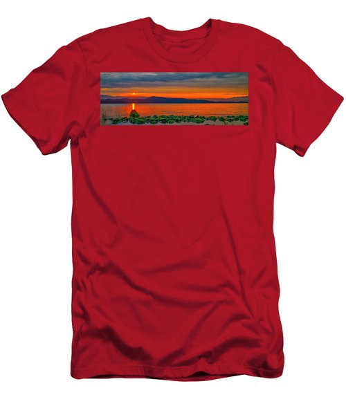Fire Rock Men's T-Shirt (Athletic Fit)