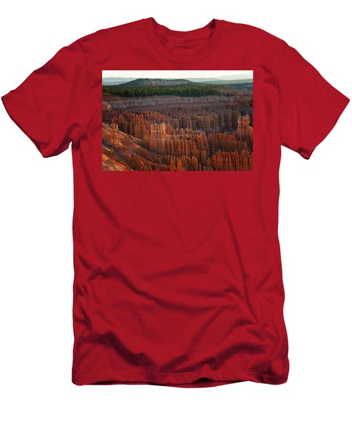 First Light On The Hoodoo Inspiration Point Bryce Canyon National Park Men's T-Shirt (Athletic Fit)