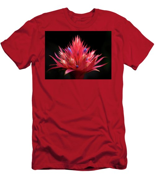 Flaming Flower Men's T-Shirt (Athletic Fit)
