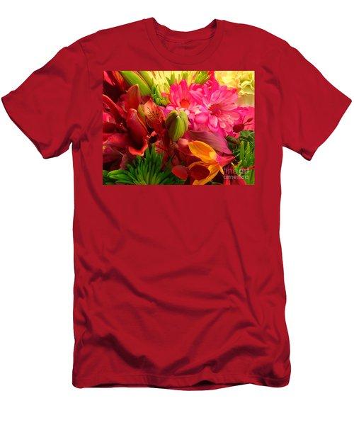 Flower Bunch Men's T-Shirt (Athletic Fit)