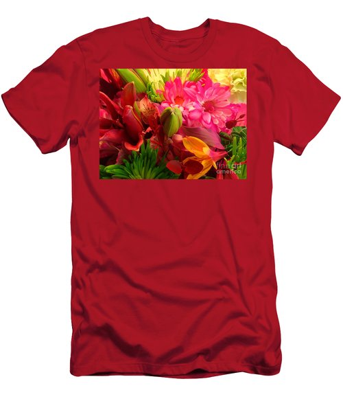 Flower Bunch Men's T-Shirt (Athletic Fit)