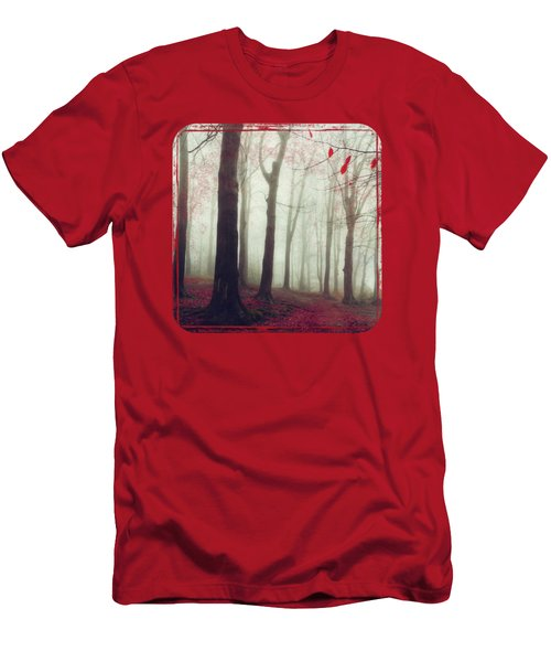 Forest In December Mist Men's T-Shirt (Athletic Fit)