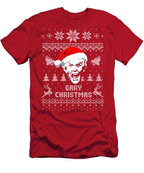 Gary Busey Christmas Shirt Men's T-Shirt (Athletic Fit)