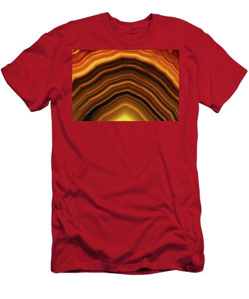 Geode Curve Men's T-Shirt (Athletic Fit)